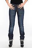 Женские джинсы OMATjeans 9519 синие, фото 4