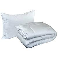 Набор одеяло с подушкой Руно белый 140х205 см + 1 подушка (50х70 см)