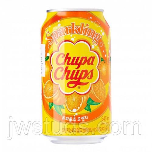 Chupa Chups газована вода Апельсин 345мл