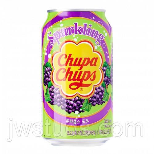 Chupa Chups газировка Виноград 345мл