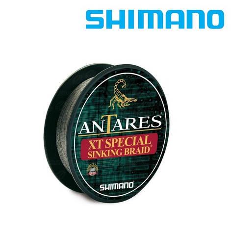 Шнур плетёный Shimano Antares XT Special Sinking Braid 0,16мм 100м тёмно-зелёный, фото 2