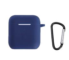 Чохол для навушників Apple Airpods і TWS i10 Silicone Case Колір Синій