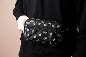 Поясная сумка мужская Gothic Hands, фото 3