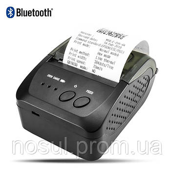 NETUM NT-1809DD 58mm Bluetooth ФОП ПРРО портативный блютуз термо принтер переносной съемный АКБ печать с телеф