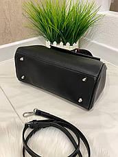 Женская сумка Hermeс Birkiн Horse черная СГБ99, фото 3