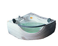Appollo AT-2121 Ванна угловая с гидро-аэромассажем 152x152