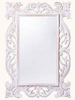 """Зеркало """"Ажур""""в резной деревянной раме,100см*70см"""