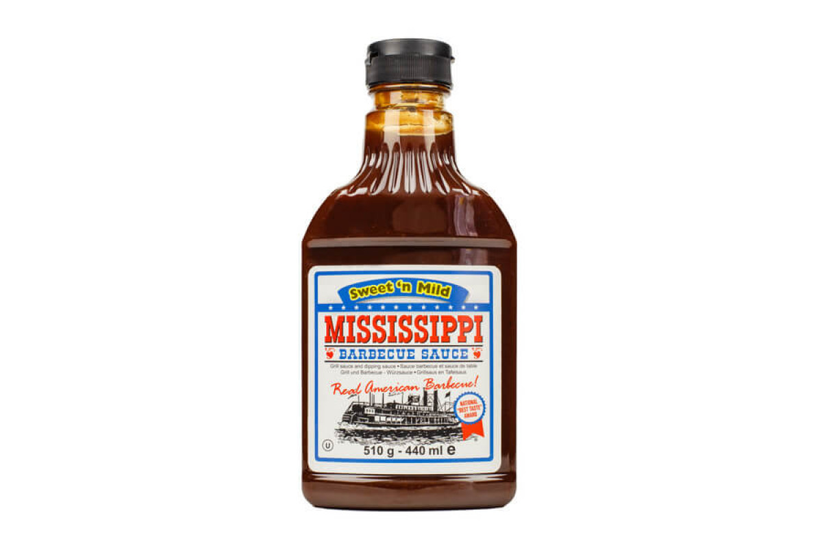 Соус BBQ Mississippi Sweet&mild солодком'який (510г)