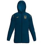 Зимняя удлинённая cпортивная куртка сборной Украины Joma FFU, фото 2