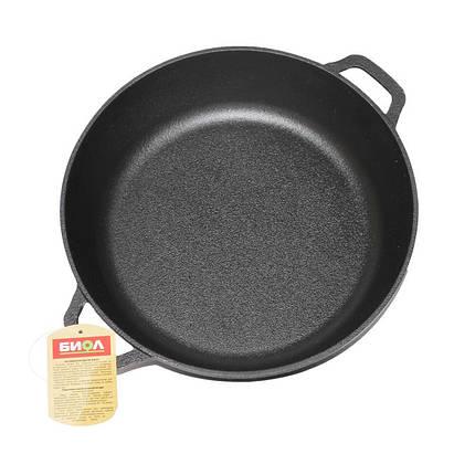 Сковорода жаровня Биол чугунная 50 см 1750, фото 2