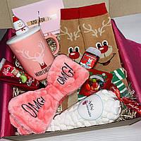 """Подарок для девушки девочки от WowBoxes """"Christmas Box 3"""""""