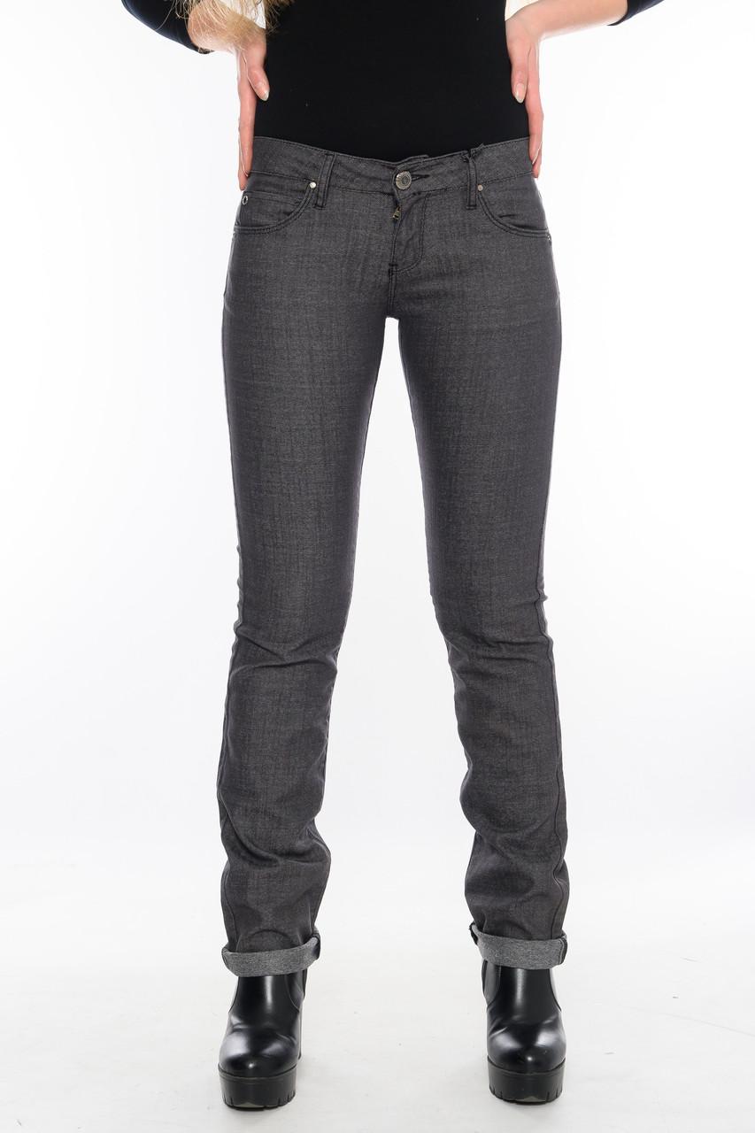 Женские джинсы OMAT 9550 серые