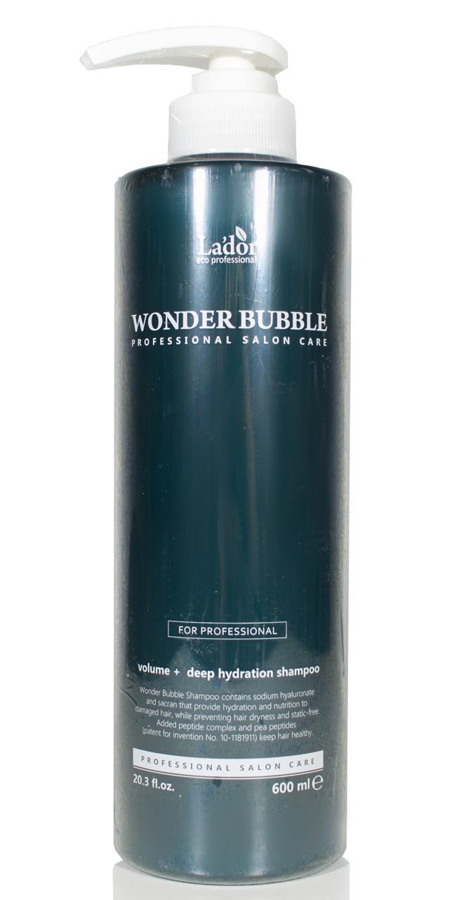 Шампунь двойного действия Lador Wonder Bubble Shampoo 600 мл