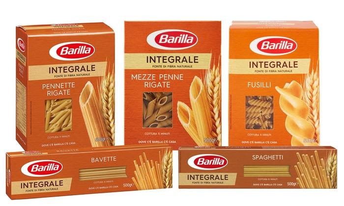 BARILLA Integrale в асортименті
