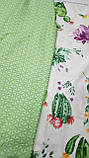 Постельное белье сатин Цветущий кактус, фото 2