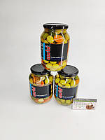 Оливки Corbi Coctel Mediterraneo (оливки, огурец, морковь, лук, чеснок)