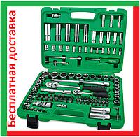 Toptul GCAI108R 4-32 мм, 6 граней, 108 предметов. Набор инструмента автомобильный, головок шестигранных топтул