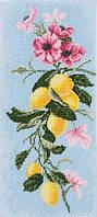 """Набор для вышивания мулине """"Лимонная свежесть"""""""