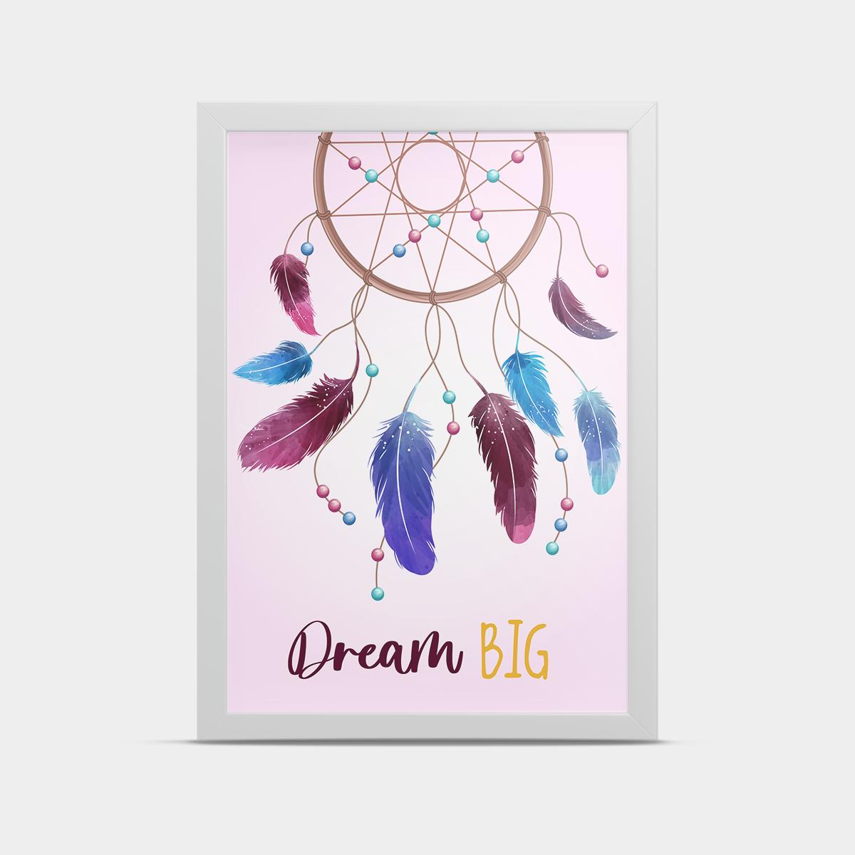 Постер в детскую Розовый 20*30 см
