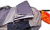 Велосипедный рюкзак Under Armour серого цвета.Модный городской серый рюкзак, фото 3
