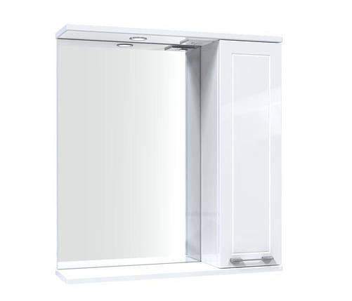 Зеркало Aquarius Elegance со шкафчиком и подсветкой 65 см, фото 2