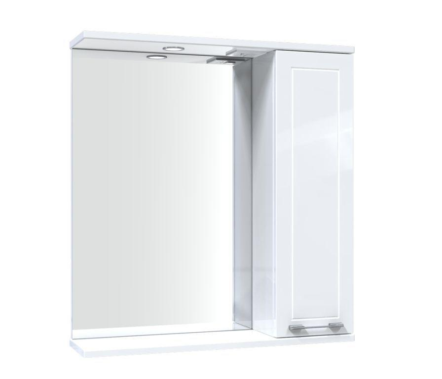 Зеркало Aquarius Elegance со шкафчиком и подсветкой 65 см