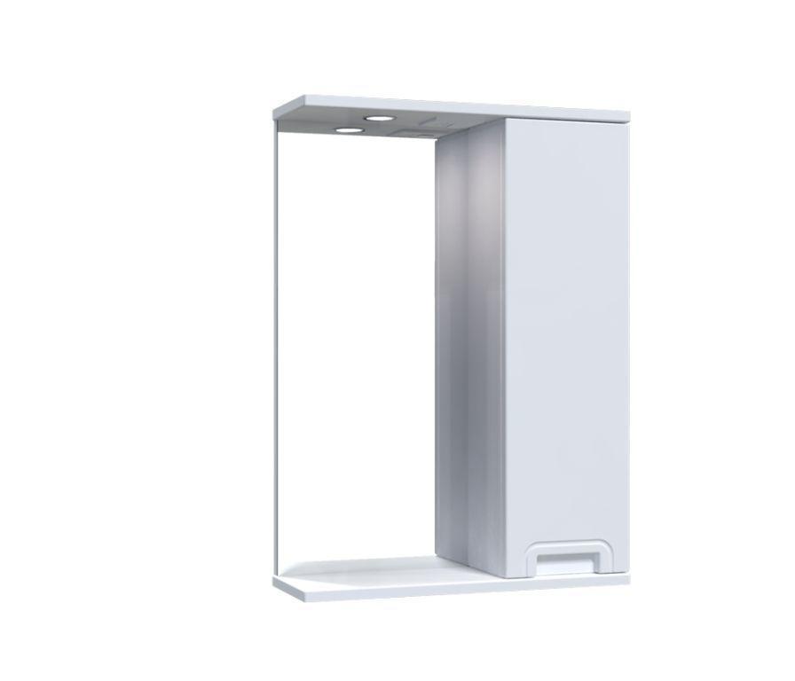 Зеркало Aquarius SIMPLI со шкафчиком и подсветкой 50 см