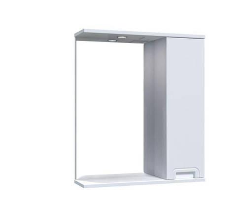 Зеркало Aquarius SIMPLI со шкафчиком и подсветкой 60 см, фото 2
