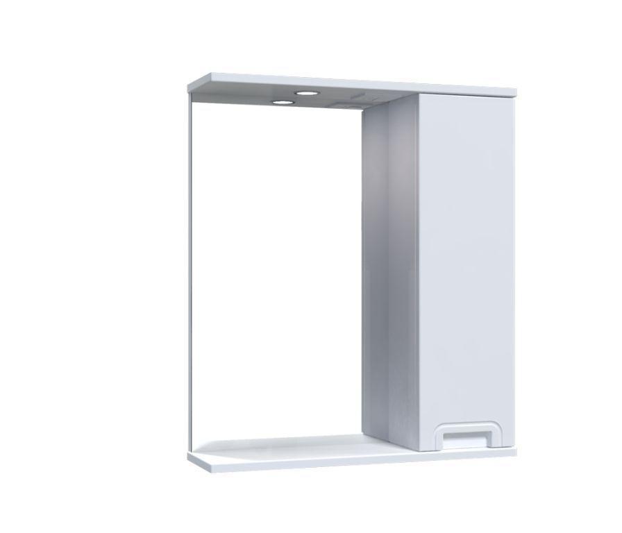 Зеркало Aquarius SIMPLI со шкафчиком и подсветкой 60 см