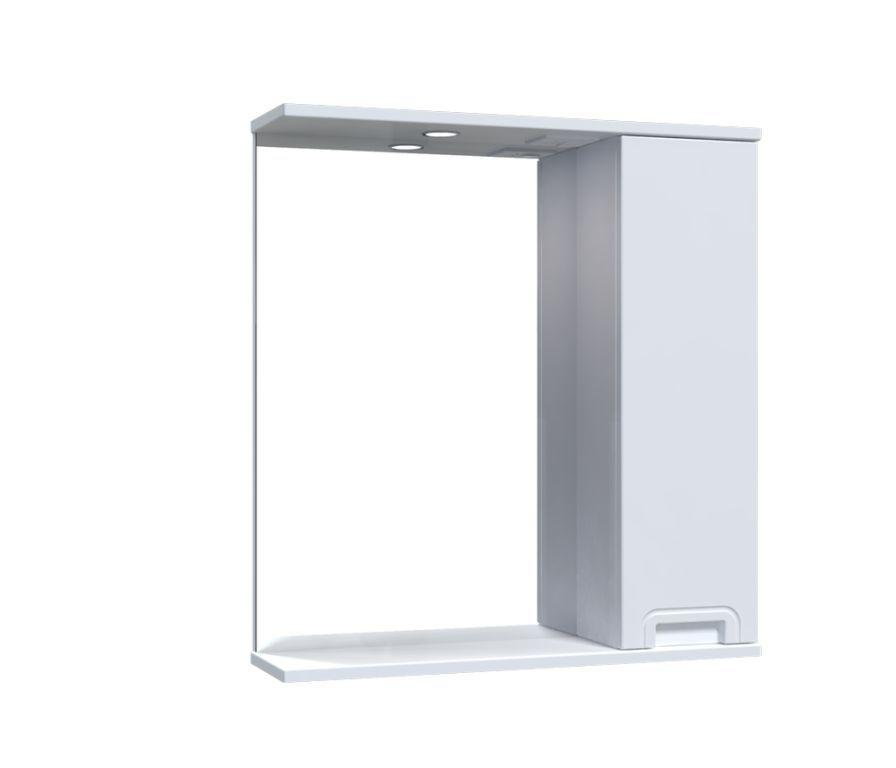 Зеркало Aquarius SIMPLI со шкафчиком и подсветкой 65 см