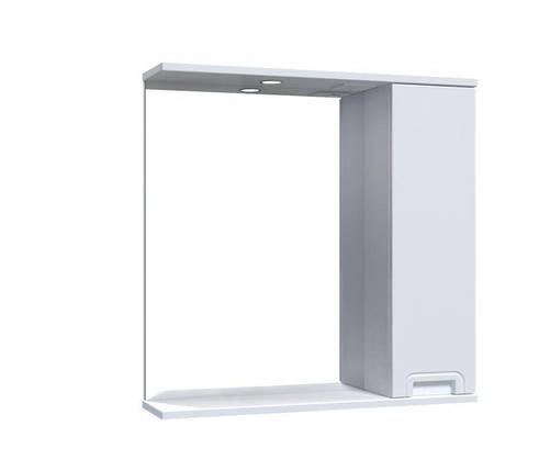 Зеркало Aquarius SIMPLI со шкафчиком и подсветкой 70 см, фото 2
