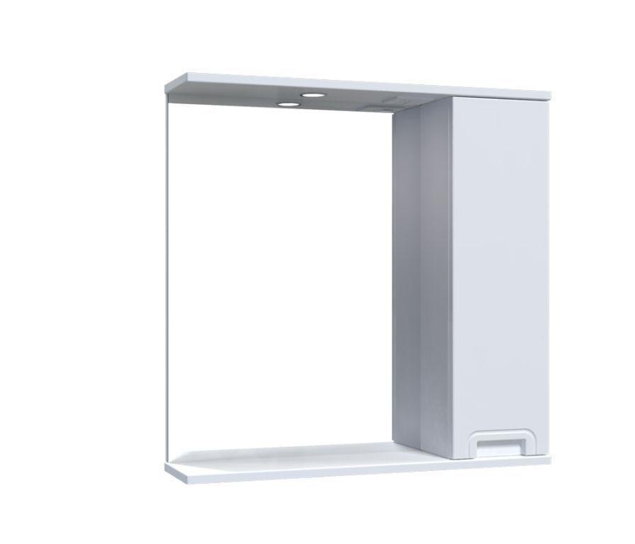 Зеркало Aquarius SIMPLI со шкафчиком и подсветкой 70 см