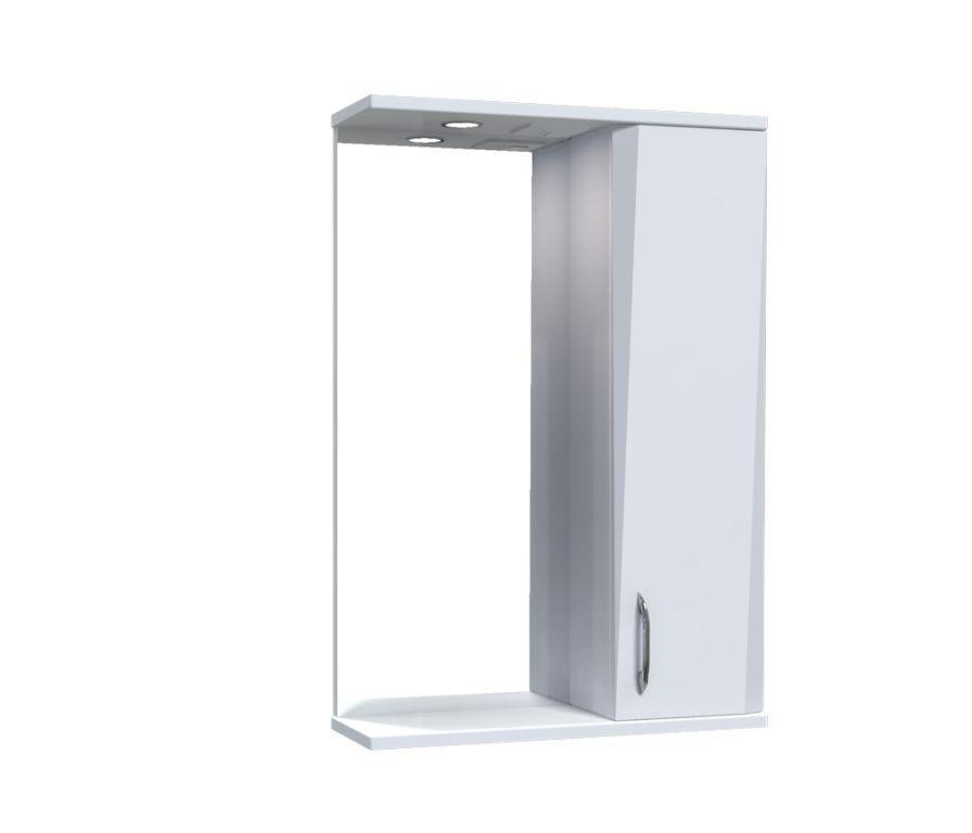 Зеркало Aquarius Жако со шкафчиком и подсветкой 50 см