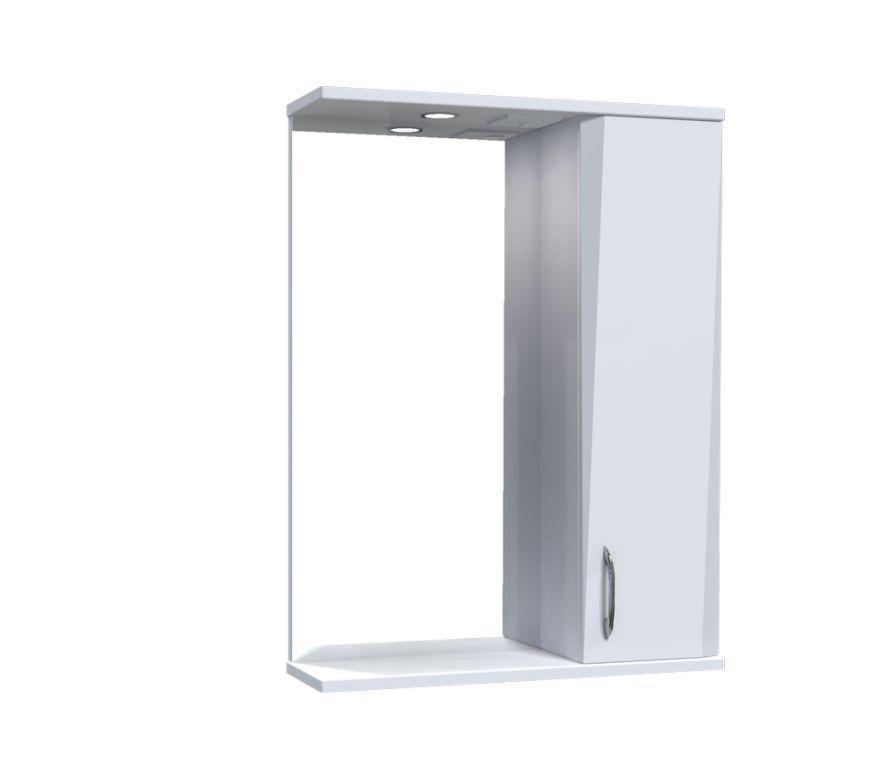 Зеркало Aquarius Жако со шкафчиком и подсветкой 55 см