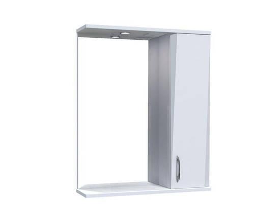 Зеркало Aquarius Жако со шкафчиком и подсветкой 60 см, фото 2