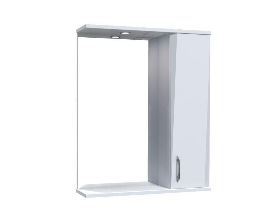 Зеркало Aquarius Жако со шкафчиком и подсветкой 60 см