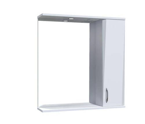 Зеркало Aquarius Жако со шкафчиком и подсветкой 70 см, фото 2