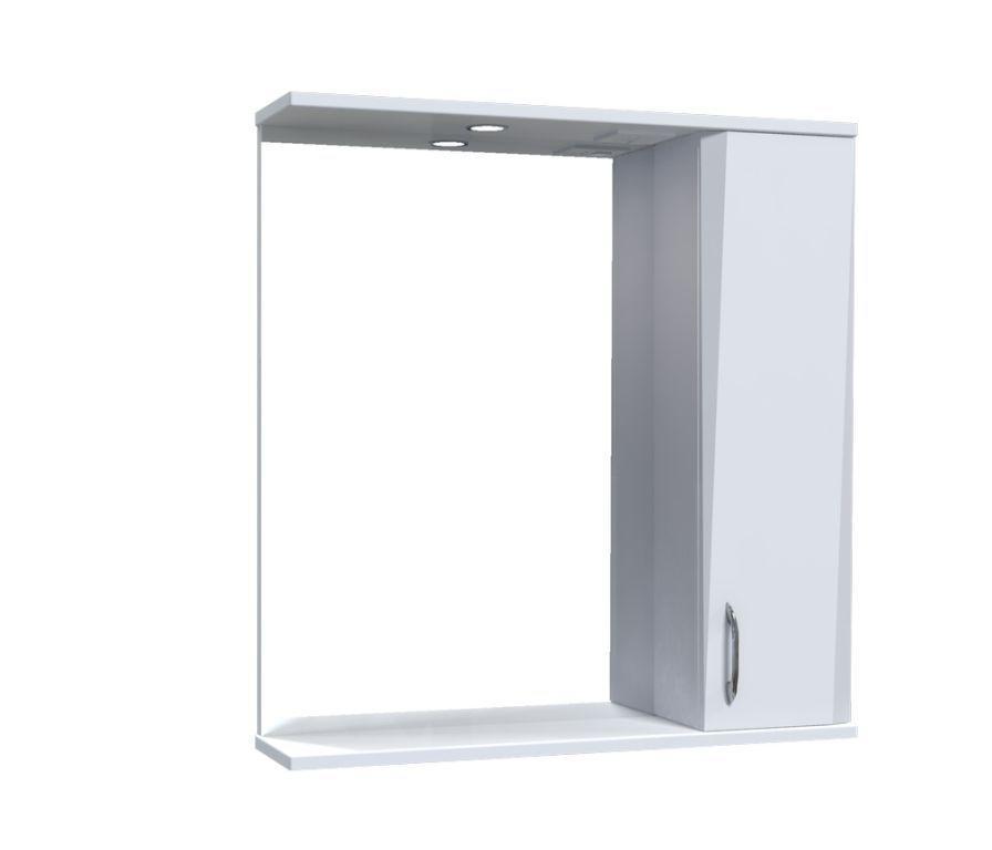 Зеркало Aquarius Жако со шкафчиком и подсветкой 70 см