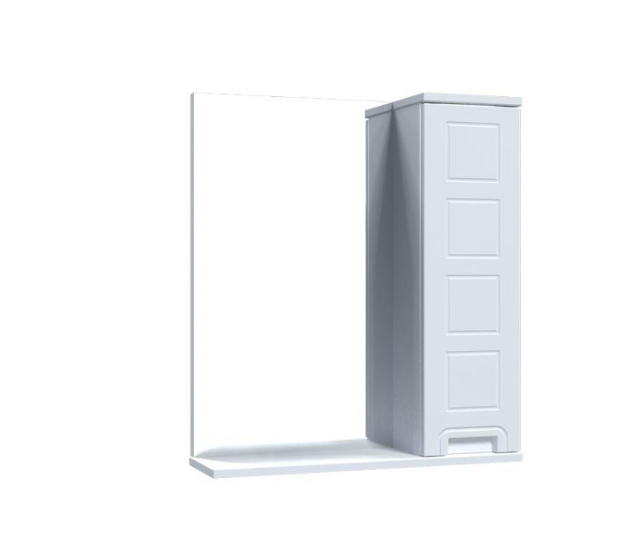 Зеркало Aquarius Симфония со шкафчиком 60 см