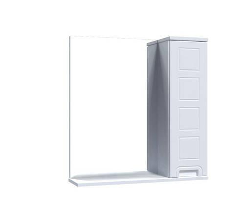 Зеркало Aquarius Симфония со шкафчиком 65 см, фото 2