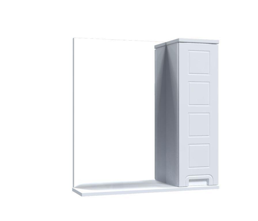 Зеркало Aquarius Симфония со шкафчиком 65 см