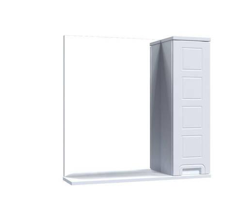 Зеркало Aquarius Симфония со шкафчиком 70 см, фото 2