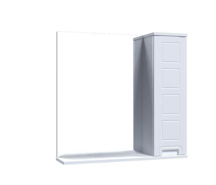 Зеркало Aquarius Симфония со шкафчиком 70 см