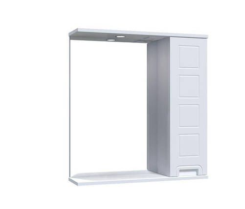 Зеркало Aquarius Симфония со шкафчиком и подсветкой 65 см, фото 2