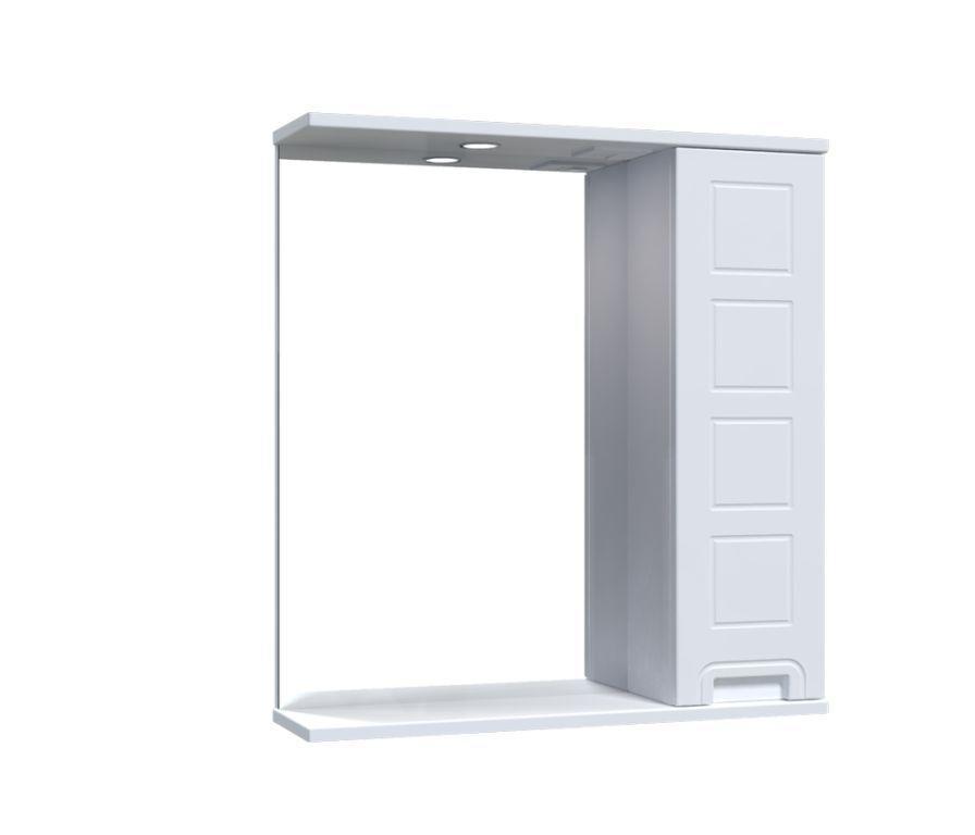 Зеркало Aquarius Симфония со шкафчиком и подсветкой 65 см