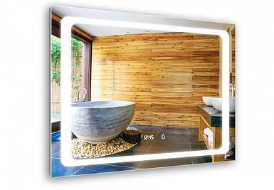 Светодиодное LED зеркало Aquarius Modena 80 см