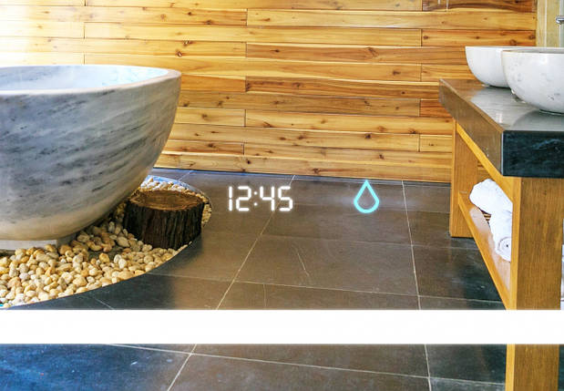 Светодиодное LED зеркало Aquarius Modena 80 см, фото 2
