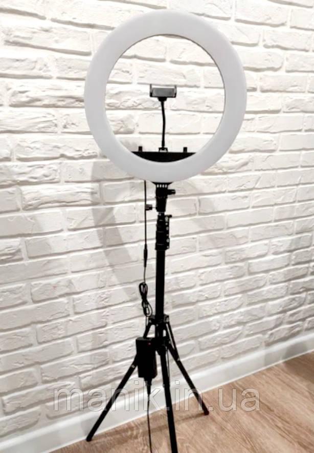 Кольцевая лампа 45см Ring Light HQ-18 (55Вт)