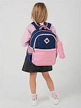 Школьный рюкзак с пеналом и ортопедической спинкой, портфель для девочки 8-9-10-11 лет (2-3-4-5 класс)
