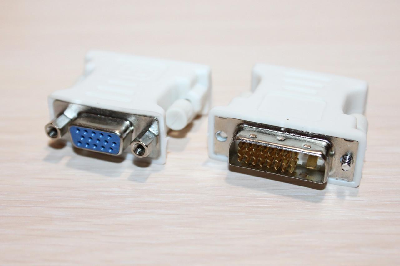 Переходник DVI-D (24+1pin) на VGA